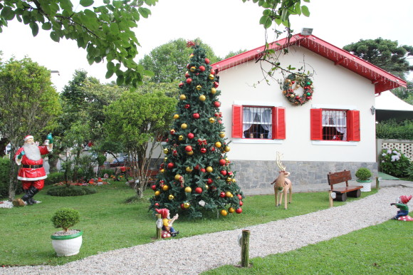 Casa do Papai Noel - Campos do Jordão - SP